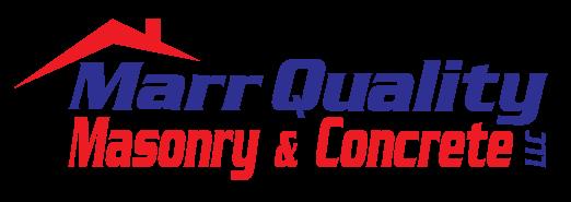 Marr Quality Masonry and Concrete